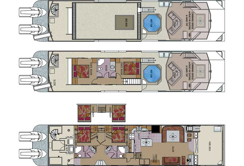 1000 images about home recreational life on pinterest for Boat floor plans